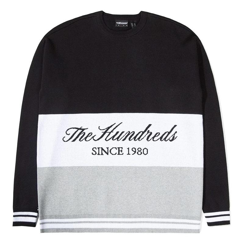 The Hundreds Gless Crewneck Sweater Black