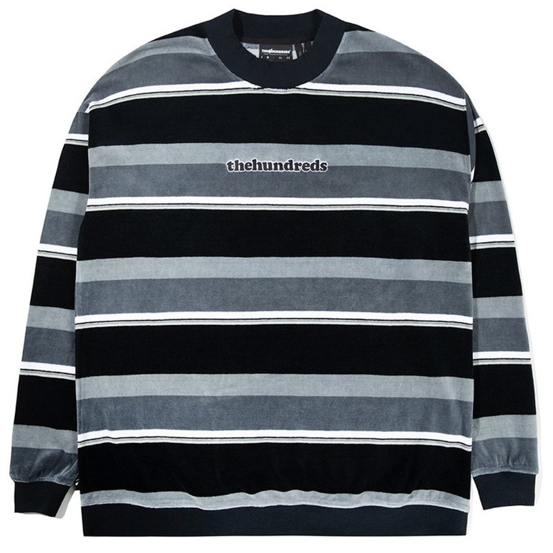 The Hundreds Peck Crewneck Sweater Black