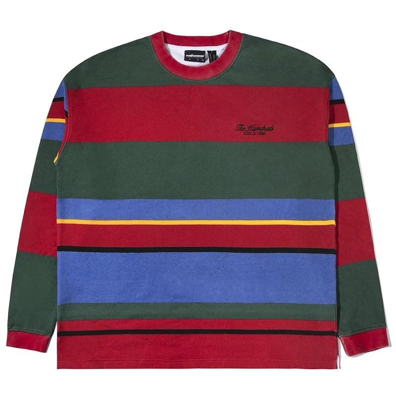 The Hundreds Reseda Crewneck Sweater Red
