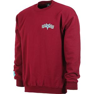 7df7d5f9dcb4 2500000234583. Thrasher Racing Crewneck Sweater Maroon. € 64
