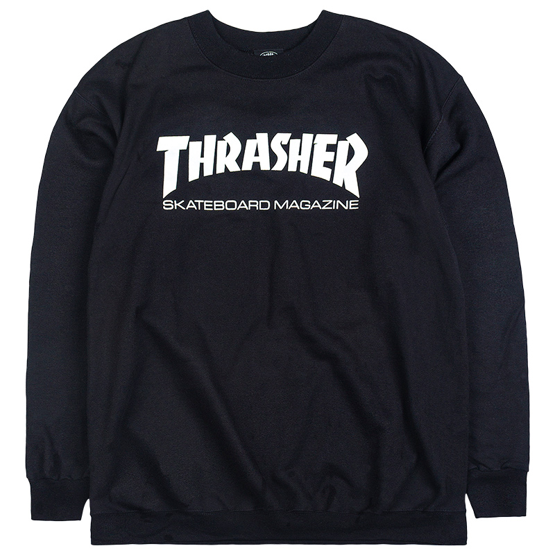 Thrasher Skate Mag Trui Zwart kopen bij de Skateboard winkel