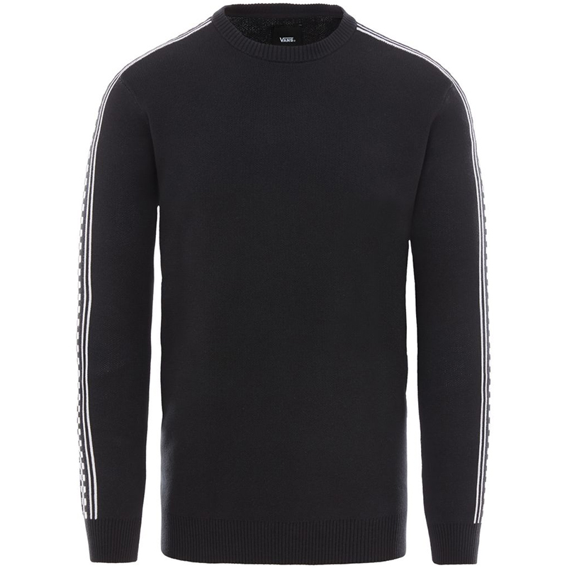 Vans Checkerboard Yo Crewneck Sweater Black