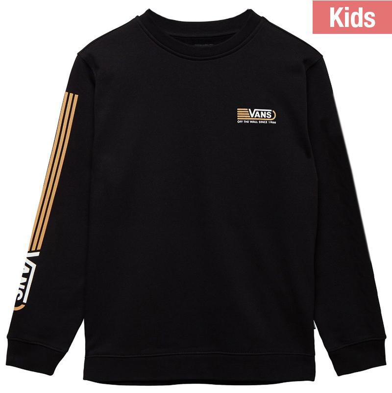 Vans Kids Blendline Crewneck Sweater Black