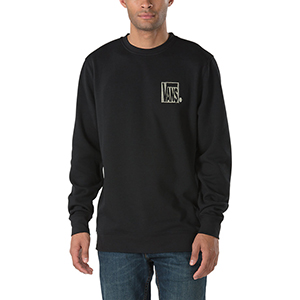 Vans New Checker Crewneck Sweater Black