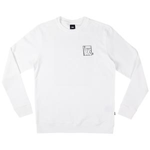 Vans New Checker Crewneck Sweater White