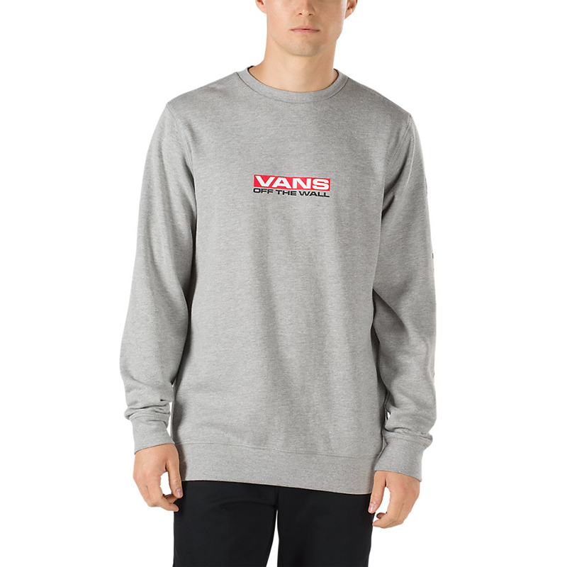 Vans Side Waze Crewneck Sweater Cement Heather