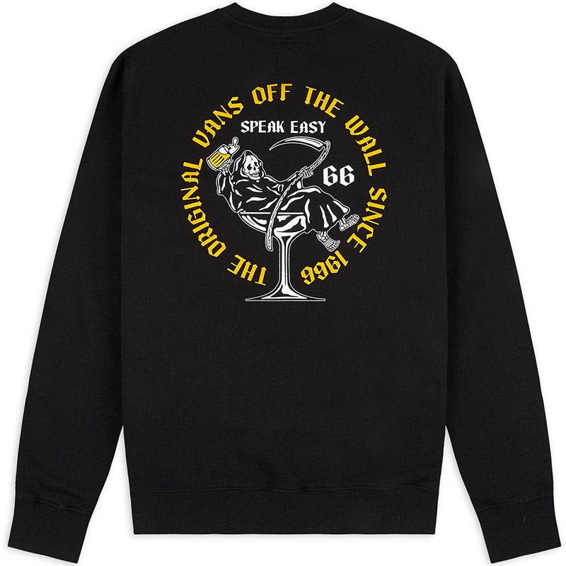 Vans Speak Easy Crewneck Sweater Black