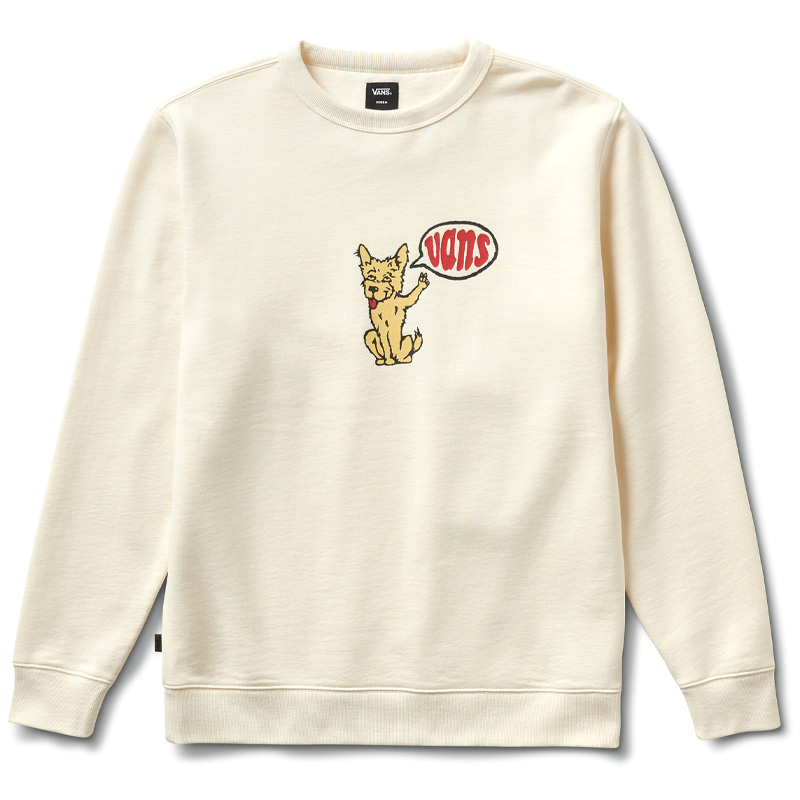 Vans Versa Standard Crewneck Sweater (Tyson Peterson) Antique White