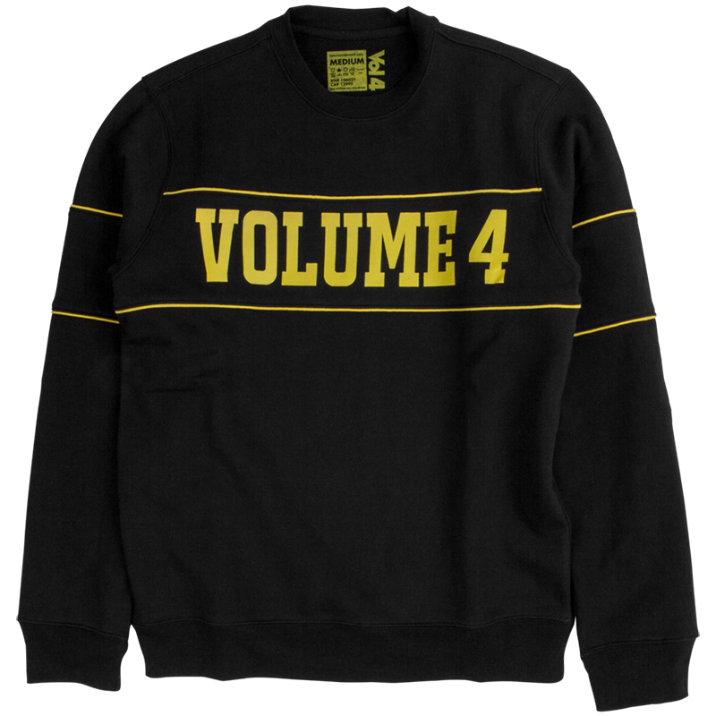 Vol 4 Drop Out BLK Crewneck Sweater Black