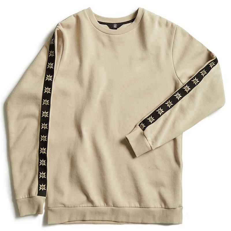 Volcom A.P. Crewneck Sweater Feather Grey