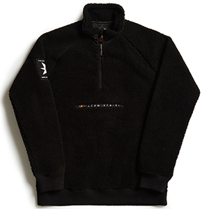 Volcom A.P. Fleece Mockneck Sweater Black