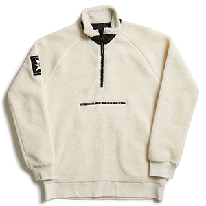 Volcom A.P. Mockneck Sweater White