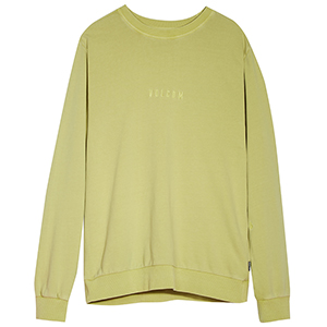 Volcom Case Crewneck Sweater Shadow Lime