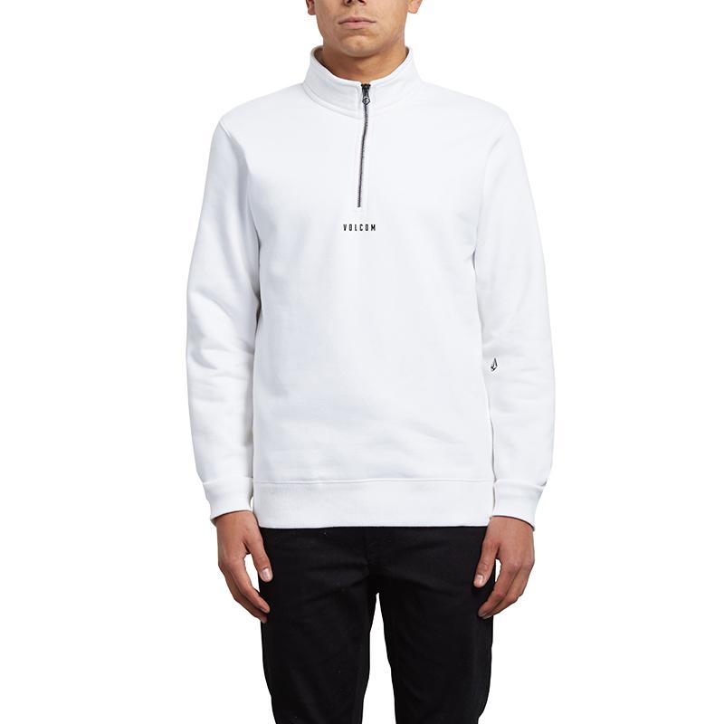 Volcom Dixon Mockneck Sweater White