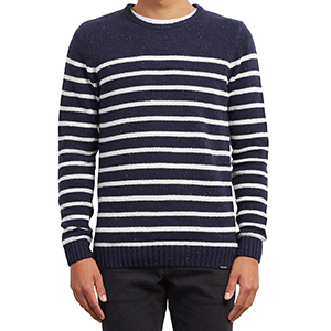 Volcom Edmonder Striped Sweater Navy