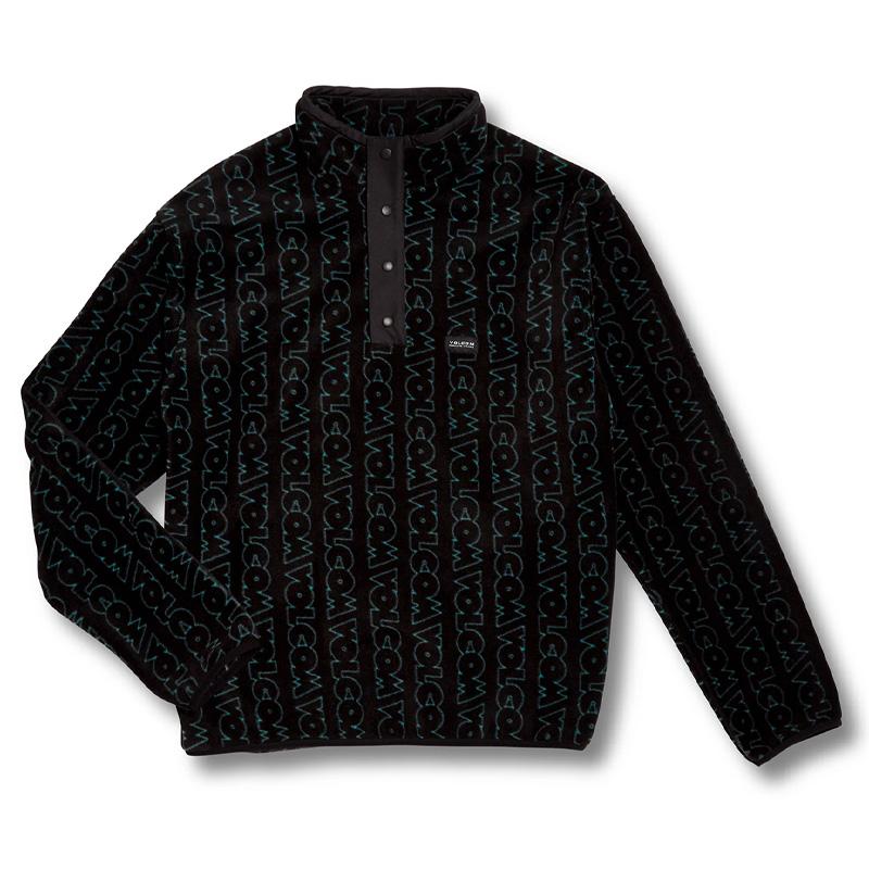 Volcom Error92 Mock Neck Sweater Prt-Print