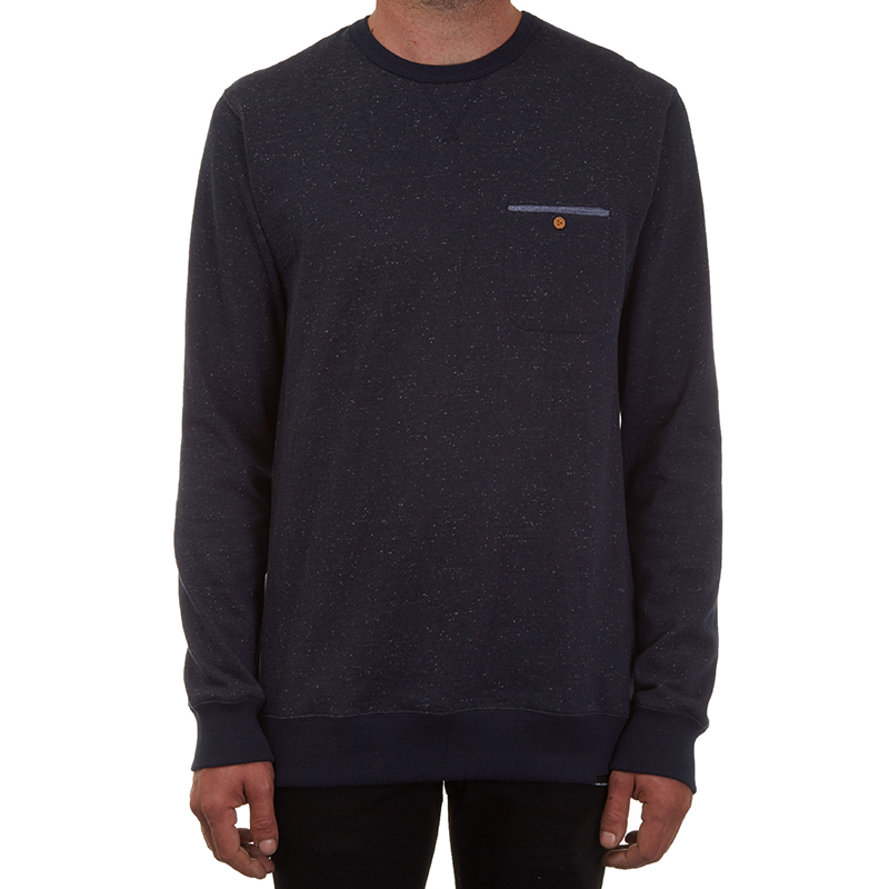 Volcom Jasp Crewneck Sweater Navy