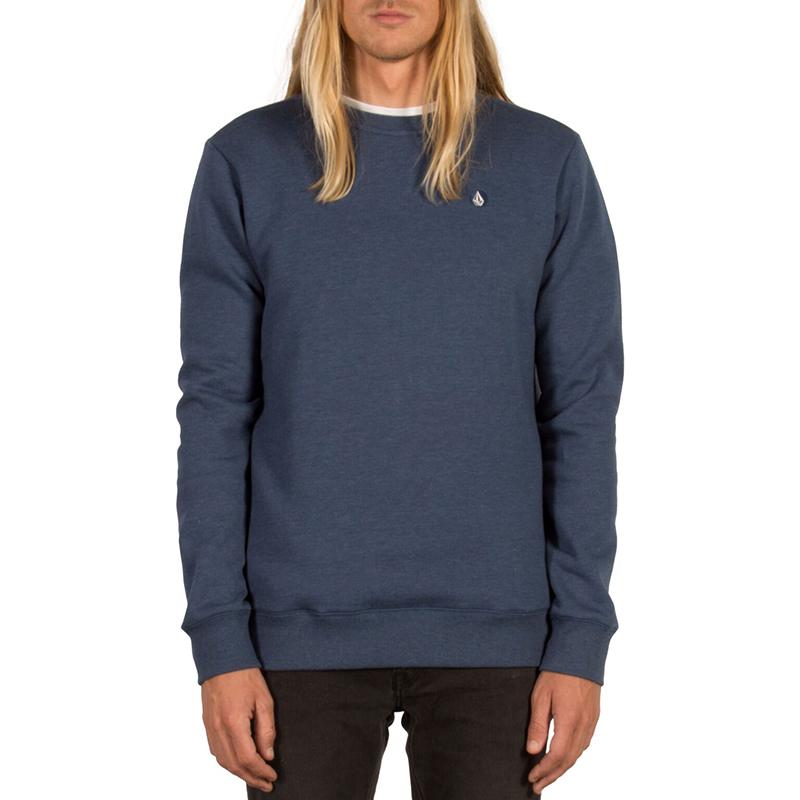 Volcom Single Stone Crewneck Sweater Smokey Blue