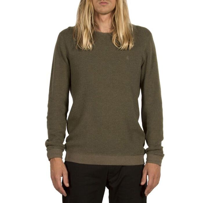 Volcom Sundown Sweater Military