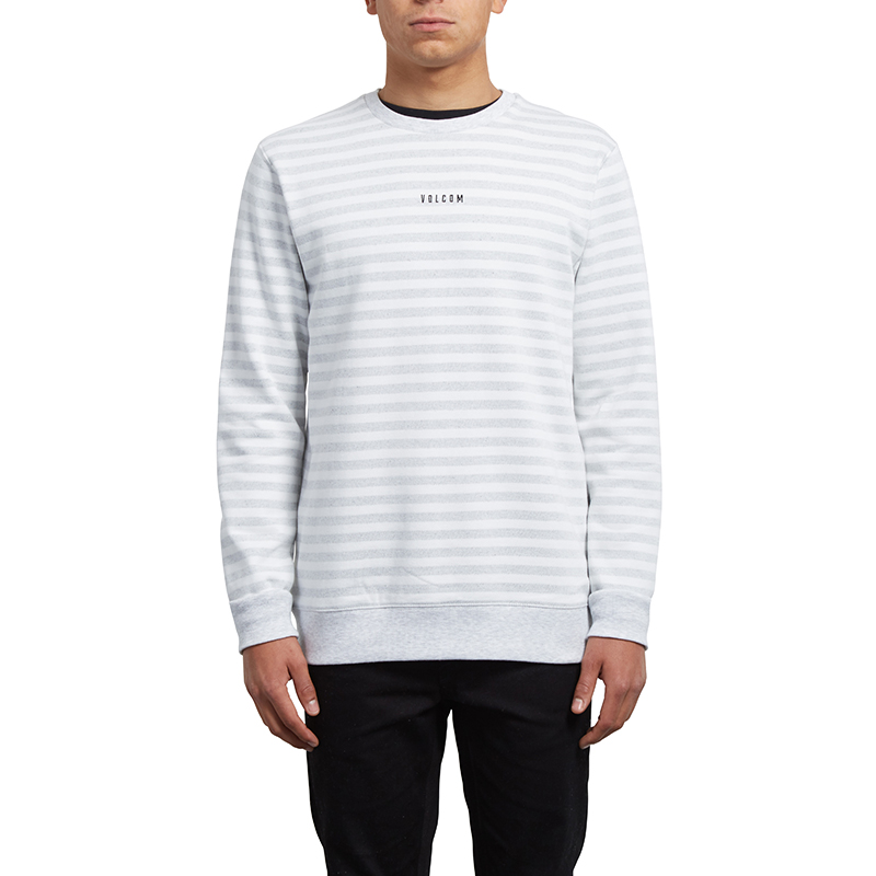 Volcom Wyle Crewneck Sweater Cloud