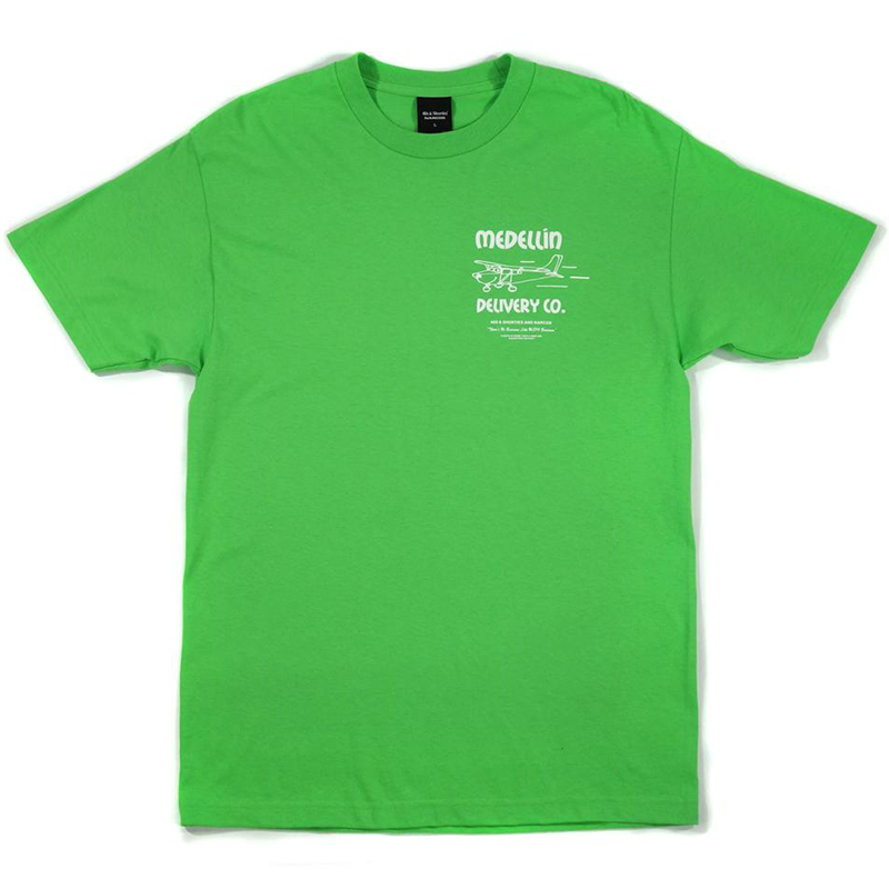 40s & Shorties x Narcos Delivery T-shirt Lime