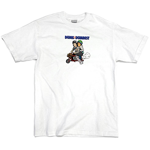 40s & Shorties Dumbest T-shirt White