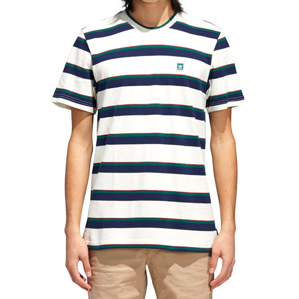 adidas Clubhouse T-shirt Owhite/Nindig/Cgreen