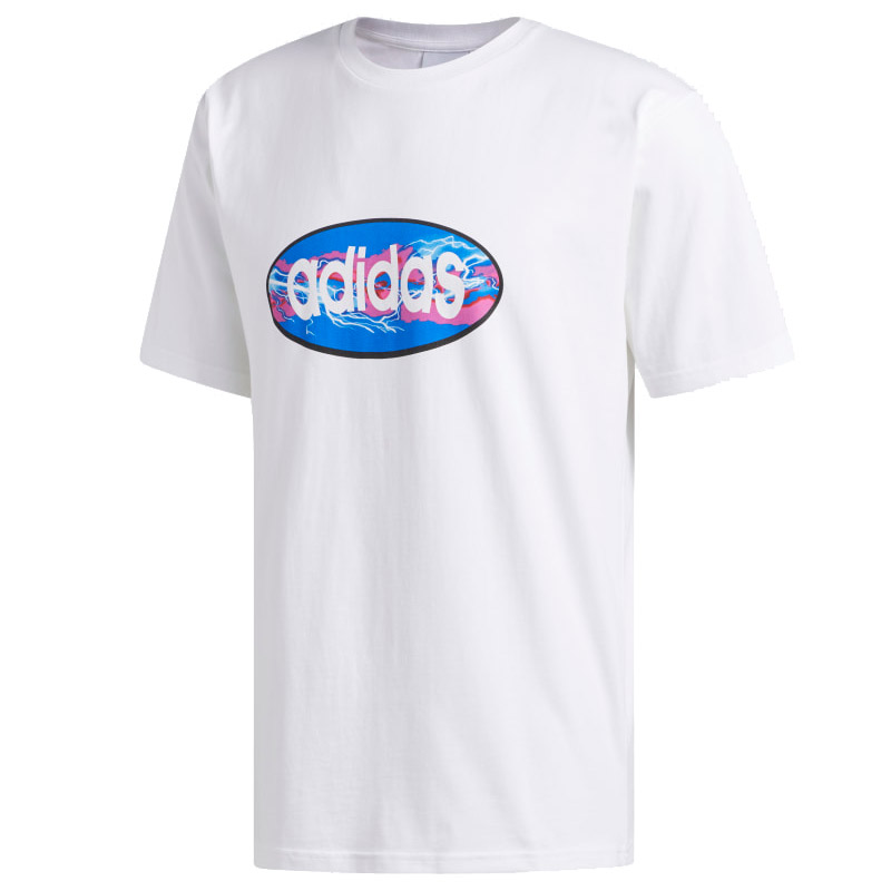 adidas Oval T-Shirt White