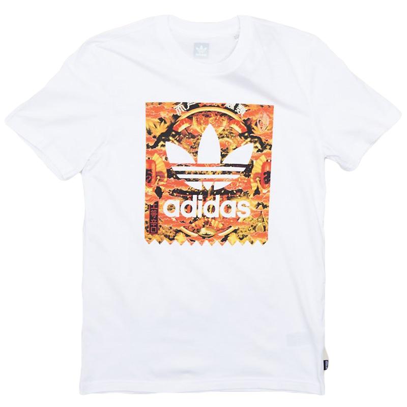 adidas x Evisen Baseball T-Shirt White