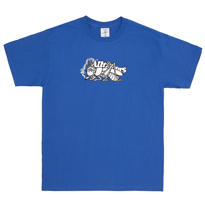 Alltimers Grass Copper T-Shirt Royal Blue