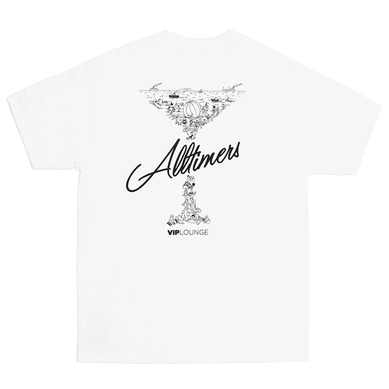 Alltimers League Player T-shirt White