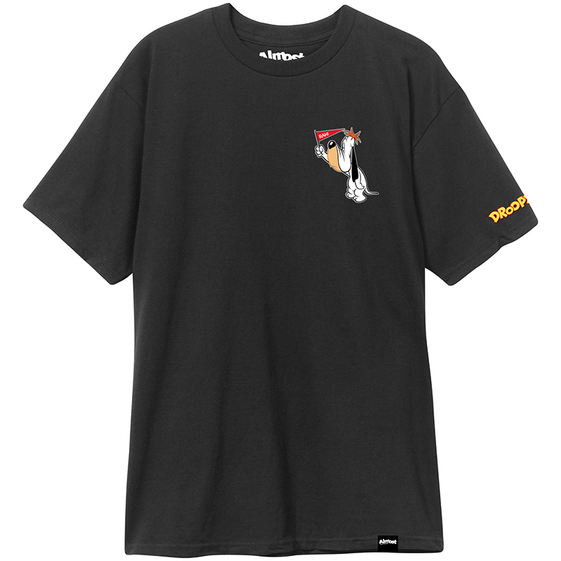 Almost Droopy Premium T-Shirt Black