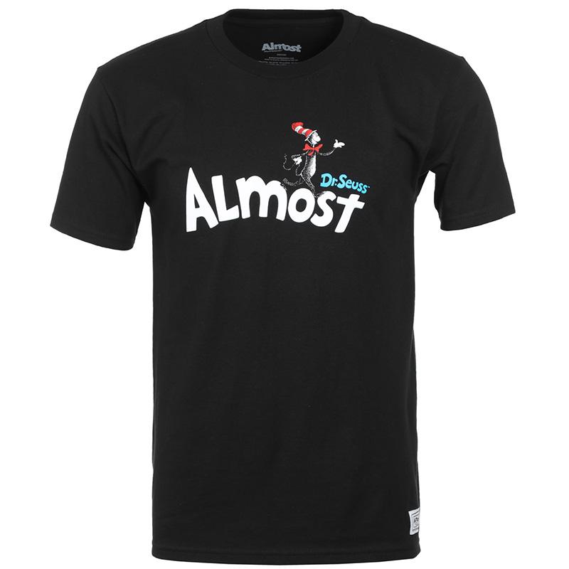 Almost X Dr Seuss T-Shirt Black