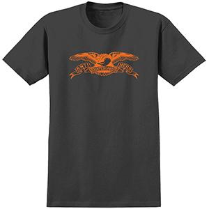 Anti Hero Basic Eagle T-Shirt Black/Orange