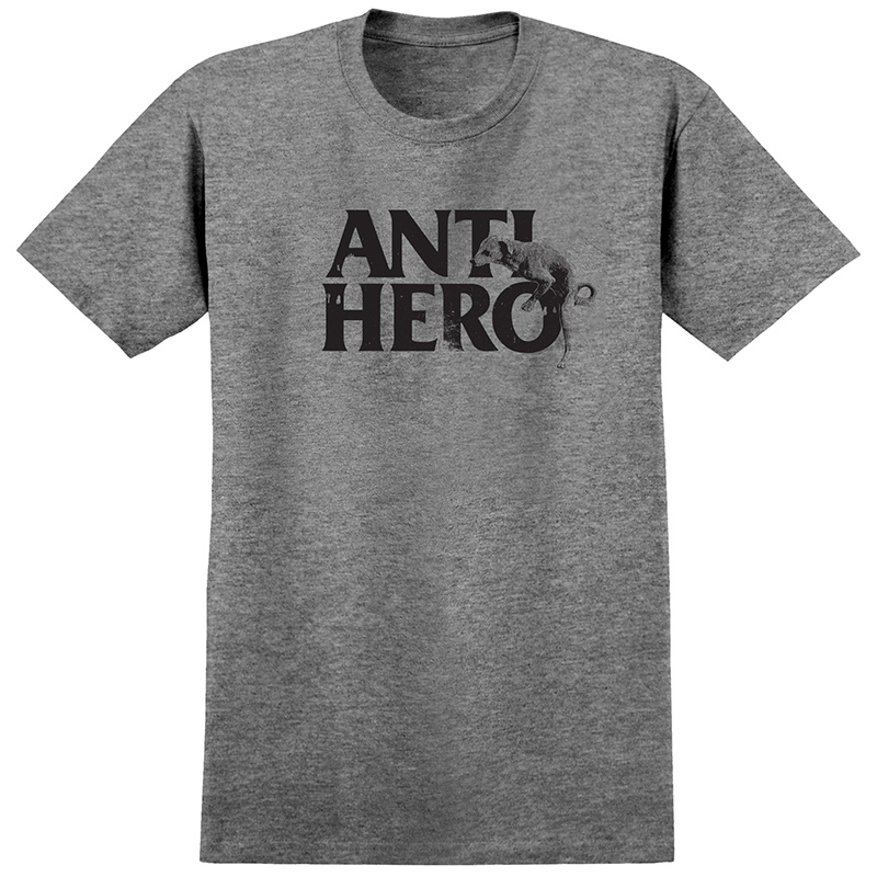 Anti Hero Doghump T-Shirt Premium Tri Blend Grey Heather
