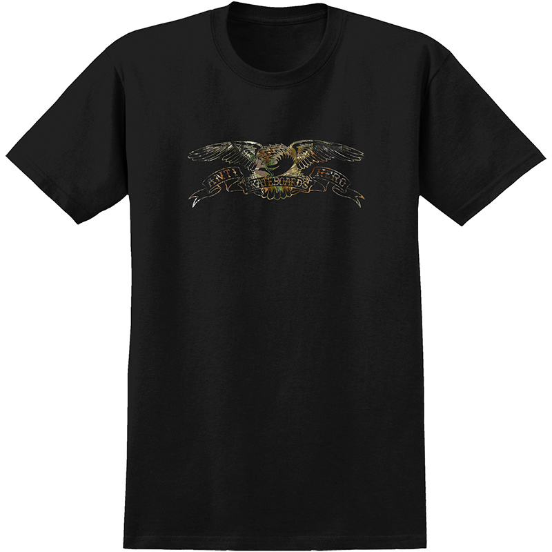 Anti Hero Eagle Real Tree T-Shirt Premium Black