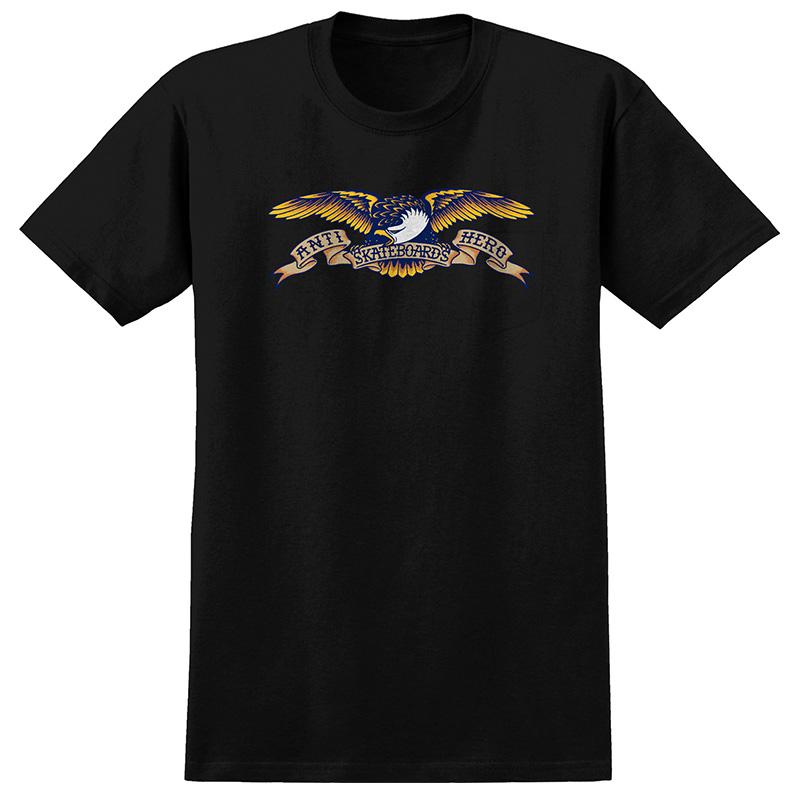 Anti Hero Eagle T-Shirt Black/Multi