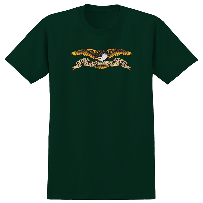 Anti Hero Eagle T-Shirt Forrest Green