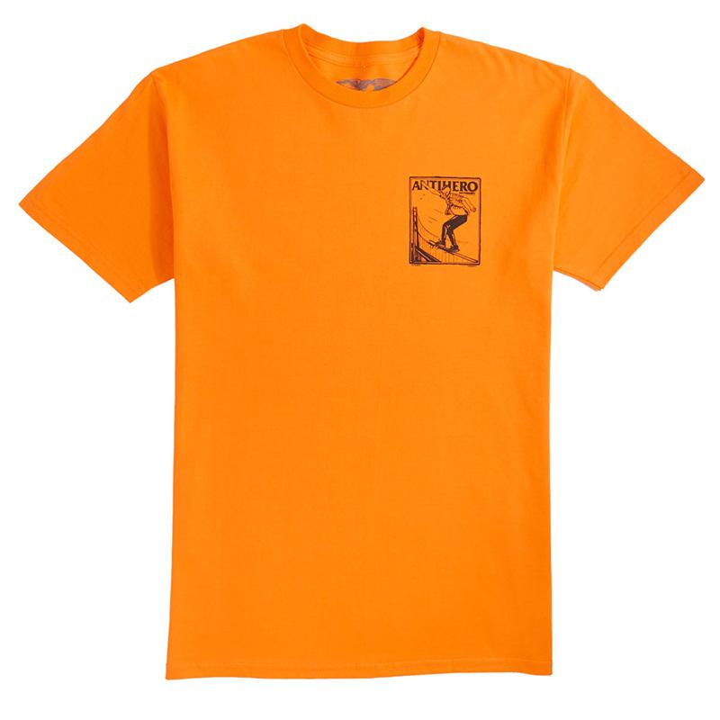 Anti Hero Lance Gerwer T-Shirt Orange