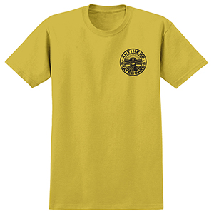 Anti Hero Stay Ready T-Shirt Mustard/Black