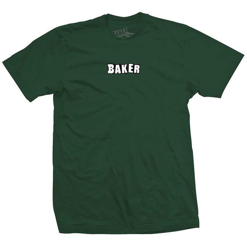 Baker Brand Logo T-Shirt Military Green