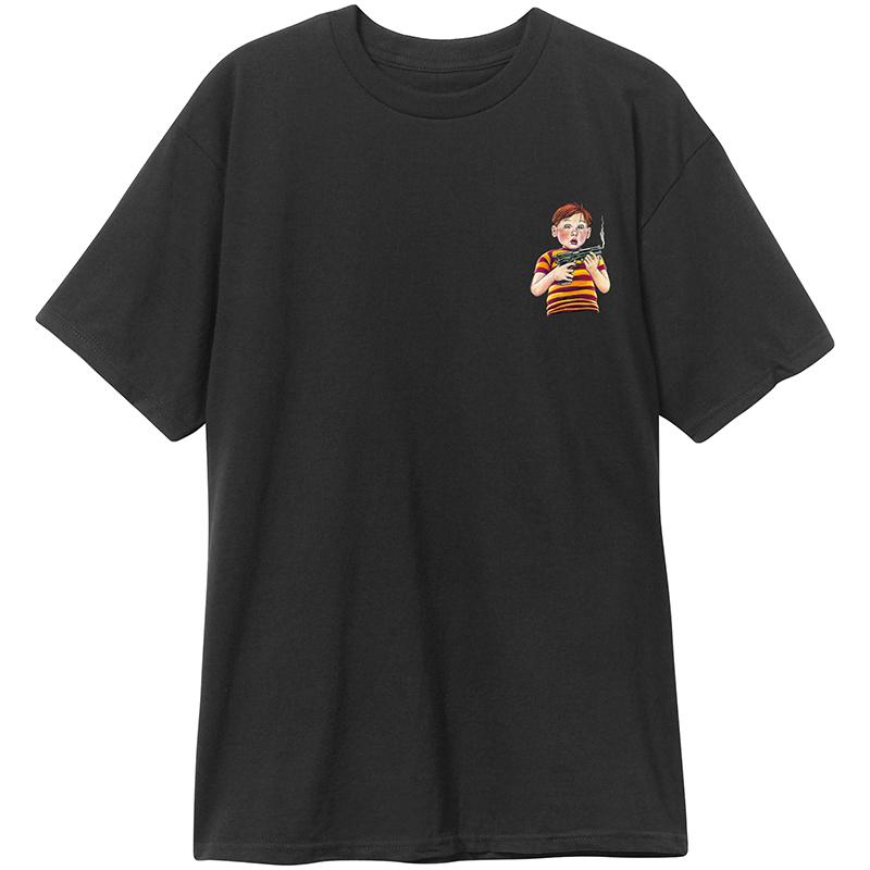 Blind Accidental Gun Death T-Shirt Black