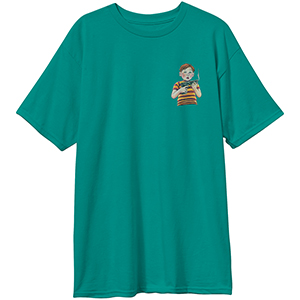 Blind Accidental Gun Death T-Shirt Vintage Green