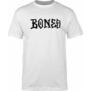 Bones Frontal T-Shirt White