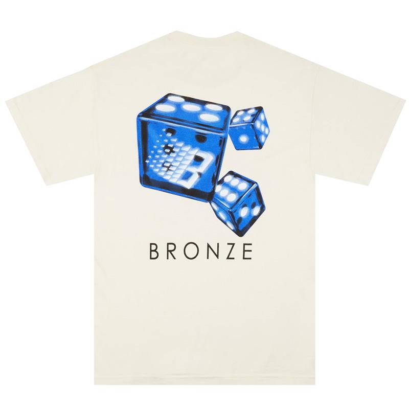 BRONZE 56K Dice T-Shirt Cream