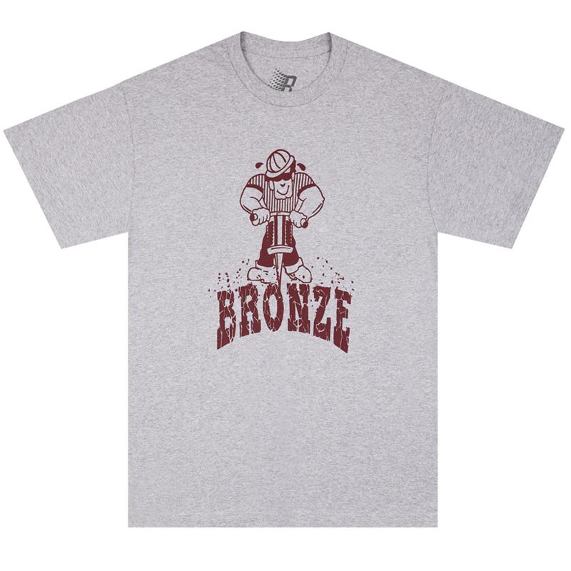 BRONZE 56K Jackhammer T-Shirt Grey