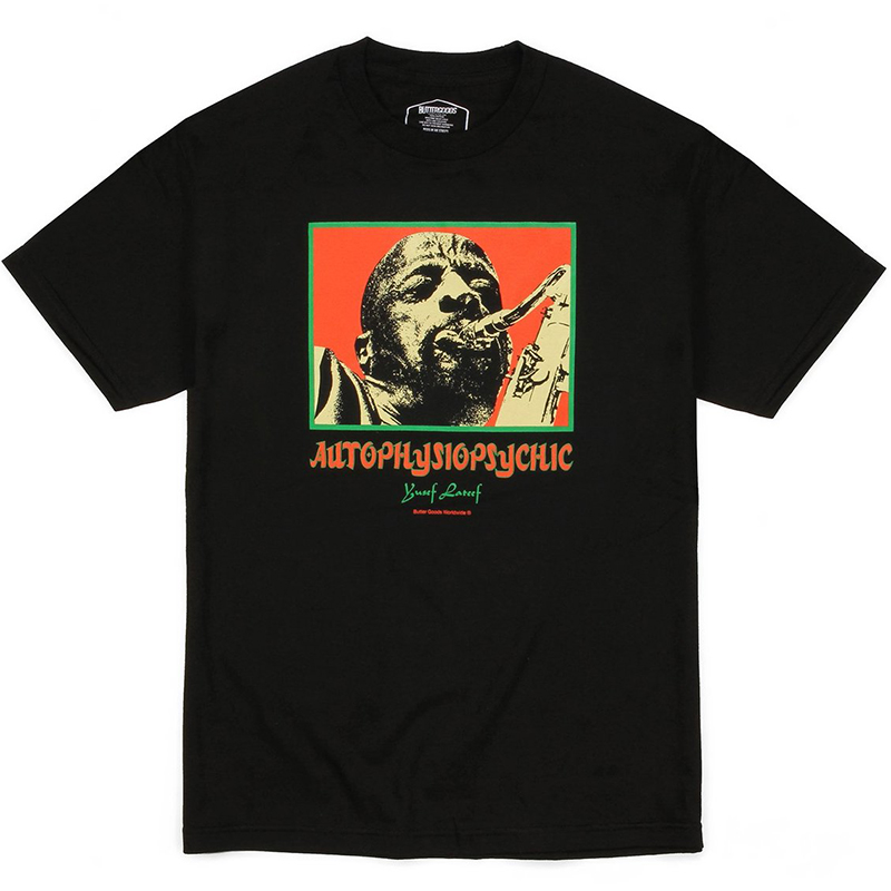 Butter Goods Autophysiopsychic T-Shirt Black
