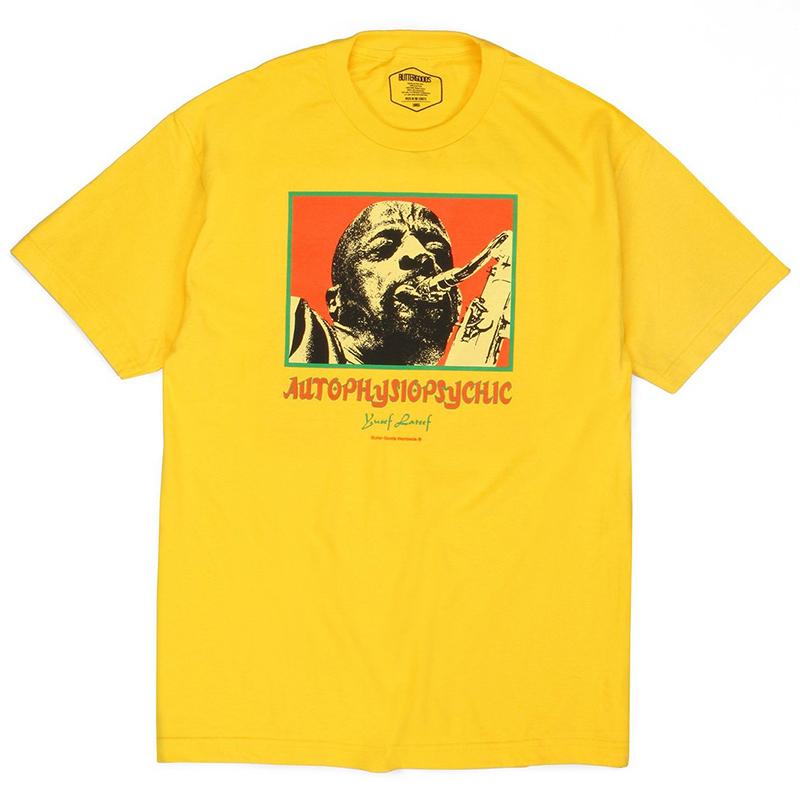 Butter Goods Autophysiopsychic T-Shirt Yellow