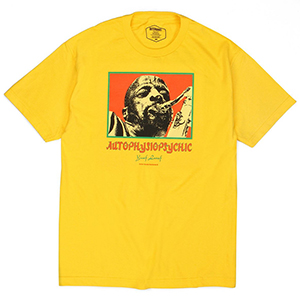 Butter Goods Autophysiopsychic T-Shirt Yellow