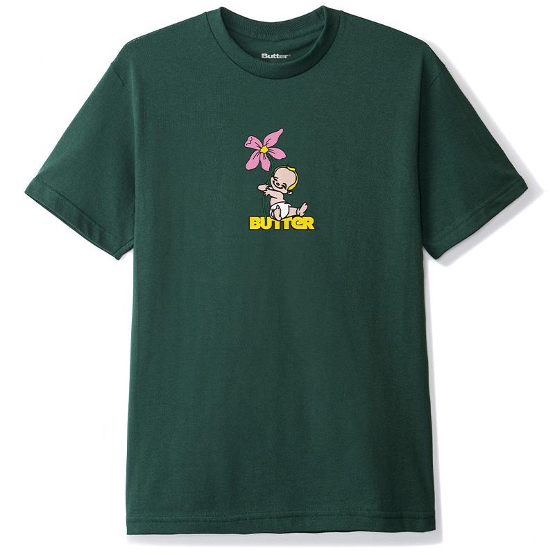 Butter Goods Baby T-shirt Forest Green
